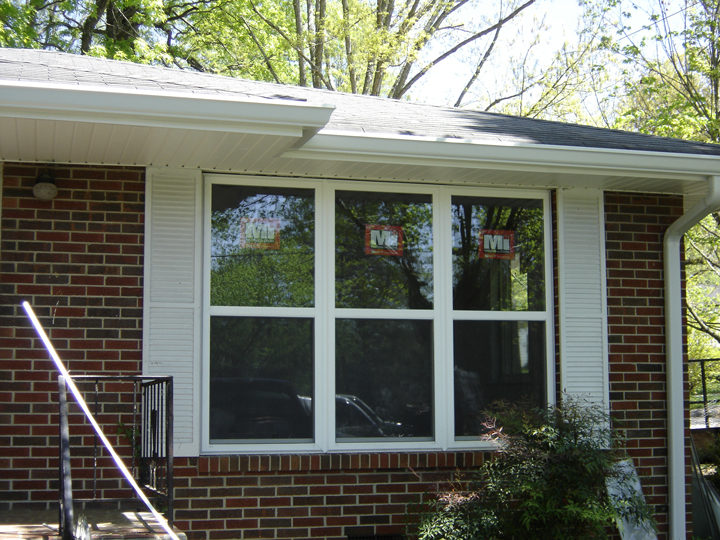 Triple Double Hung Windows : Walters construction inc window and door replacment